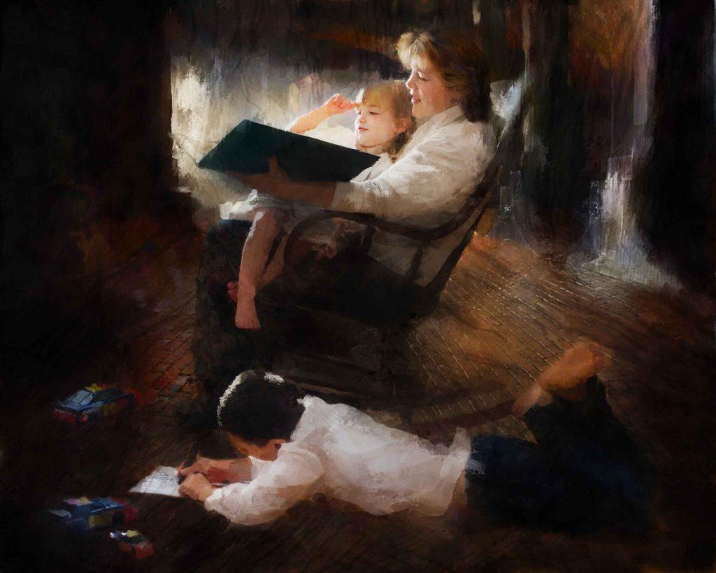 Sunday Night read by Nebraska Artist Tim ONeill